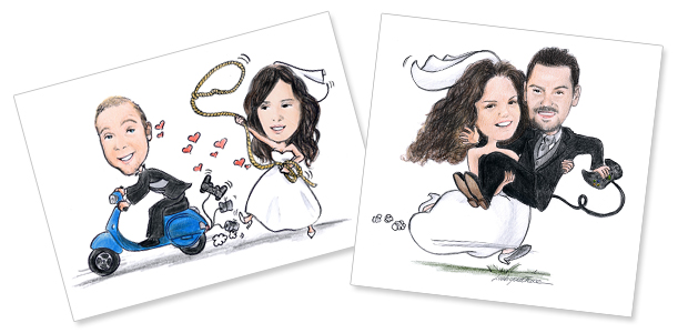 Vignette Per Auguri Matrimonio : Disegni per partecipazioni matrimonio emanuela risponde