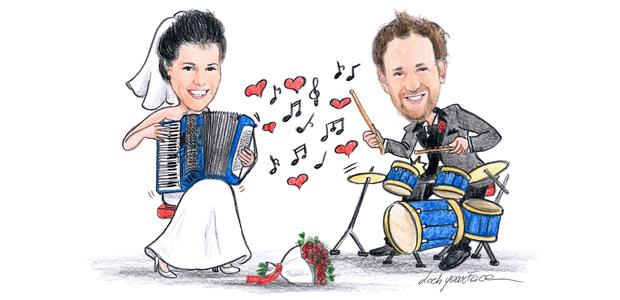 disegni per partecipazioni matrimonio emanuela risponde