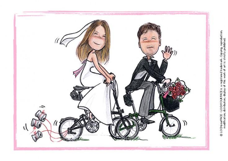 Scenette per matrimonio loch your face for Disegni per matrimonio
