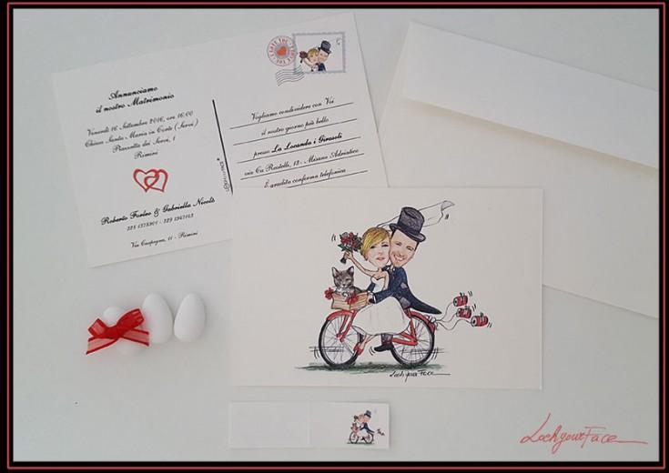 Partecipazioni di nozze originali, divertenti ed economiche, gadget ...
